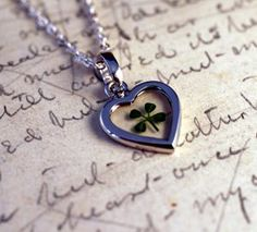 The four leaf clover's leaves stand for hope, faith, love and luck.