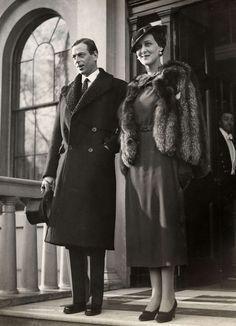 The Duke and Duchess of Kent, Prince George and Princess Marina