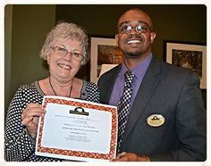 What a treat for Sandy Ash. She won the Inn Club prize last month! Congrats and enjoy your gift card Sandy.