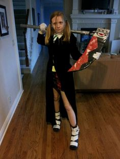 Me, cosplaying as Maka Albarn from Soul Eater! Good for an American? Or no? My first Cosplay!