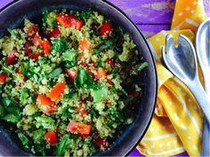 Low FODMAP Summer Millet Salad
