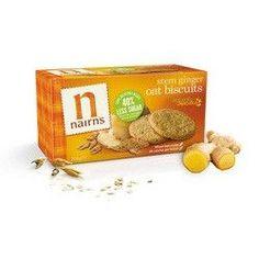 Nairn's Oatmeal Ginger Cookie Gluten Free (12x5.64Oz)