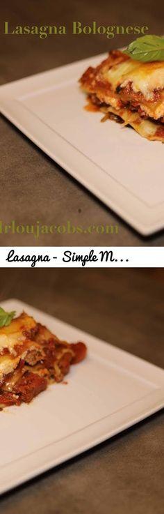Lasagna - Simple Meat Lasagna At Home. Easy Lasagna Recipe.... Tags: lasagna, lasagna bolognese, maine chiropractor, best maine lasagna, best lasagna bucharest, best maine chiropractor, bolognese, vegetarian pasta sauce, meat lasagna, American Lasagna, italian lasagna, homemade lasagna, easy lasagna, no bake noodle lasagna, Italian food maine, miccuci's, best maine italian, best maine chef, home made maine, eat drink lucky, eat maine, maine food, maine dining, maine restaurants, homemade…