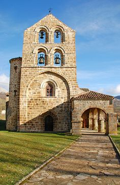 SAN SALVADOR DE CANTAMUNDA CHURCH (Saint Salvador of Cantanmunda Church) in the city of Cantamuda in Palencia, Spain