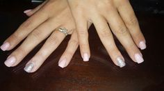 A thin acrylic overlay, receive  $10 off new clients.