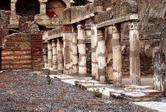 Herculaneum - Palaestra 1 by Paul 'Tuna' Turner, via Flickr