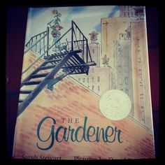 #awbchallenge Blooms Around Life's Edges: The Gardener by Sarah Stewart and Pictures by David Small
