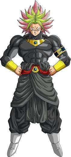 Legendary Super Saiyan Rosé Brack