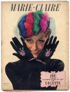 n° 100 de la revue Maire-Claire, fait par Colette, en 1939