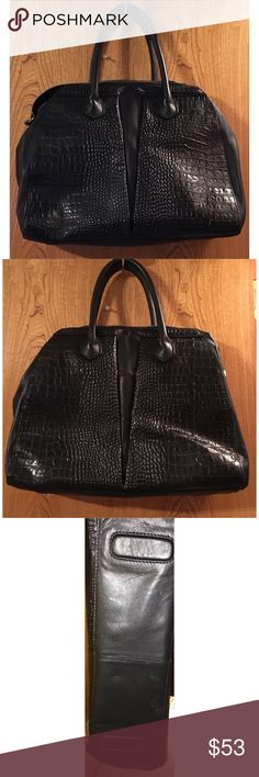 Walter Baker purse This purse is made with look-alike gator skin and is in great condition. It is very spacious and very stylish. Walter Baker Bags