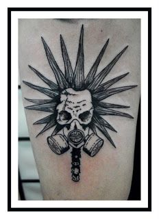 Downtown Buenos Aires Tattoo Studio: PUNK #tattoos
