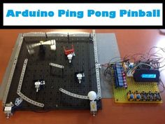 How to Make #Arduino Ping Pong Pinball Game  Arduino, PingPong, Pinball, GamingProject, Programming