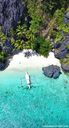 Entalula Island in El Nido | A Travel Guide to Philippines Last Frontier | El Nido and Coron are dream destinations for scuba diving,island hopping, kayaking, snorkeling, hiking, and so much more.Not sure where to go in Palawan?I'm here to help! || via /Just1WayTicket/