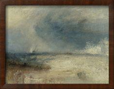 Waves Breaking on a Shore Giclée-vedos tekijänä J. M. W. Turner AllPosters.fi-sivustossa