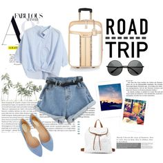Road trip by elasianfashionbeauty on Polyvore featuring polyvore, fashion, style, Chicnova Fashion, Oasis, River Island and Charlotte Russe