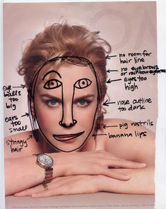 Common Mistakes When Drawing the Face