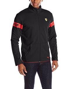PUMA Men's Scuderia Ferrari Sweat Jacket