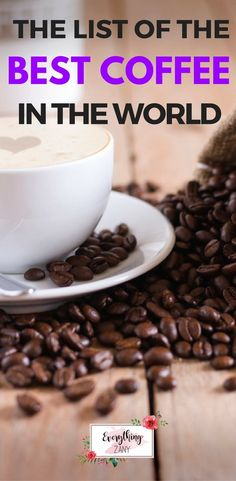 Here is the list of some of the best coffee in the world. Sharing here the brief history of coffee and its benefits. Featuring my most loved Jamaican Blue Mountain, Turkish Coffee, Colombian Coffee, Old Town Coffee and Civet Coffee. Types Of Coffee Beans, Different Types Of Coffee, Coffee Type, Great Coffee, Coffee Shop, Civet Coffee, Drinking Black Coffee, Coffee Drinks, Chocolate Covered Coffee Beans