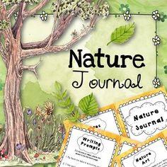 Nature Walk Journal (Outdoor Sensory Writing)