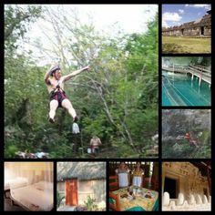 Uh Najil Ek Balam. Paquete Aventura para 2 personas $1350 pesos Reserva en aldeamaya@hotmail.com #gastronomia #cenote #cabañas #arqueologia