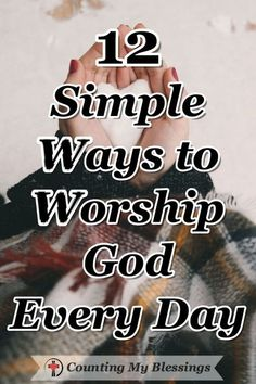 Bible Verse About Strength:I think we make worship too complicated. It's time to take our ordinary everyday lives and find simple ways to offer them to God as a daily act of worship. Worship God, Praise And Worship, Praise God, Faith Quotes, Bible Quotes, Prayer Quotes, Quotes Quotes, Bible Scriptures, Faith Bible