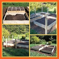 The square foot garden project.