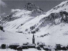 Village and Face du Charvet in 1935