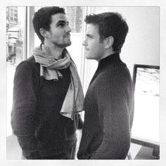Stephen Amell & Colin Donnell