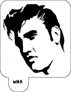 Elvira stencil
