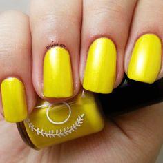 New to ParloCosmetics on Etsy: Peeked / Bright Rainbow Yellow Colored 5 Free Nail Polish Mini 5 ml (4.75 USD)