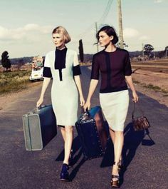 Reckless Road Trip Photoshoots - The Corrie Bond Marie Claire Australia Editorial is Adventurous Fun (GALLERY)