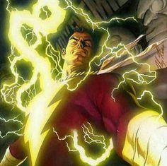 Shazam Captain Marvel By Alex Ross