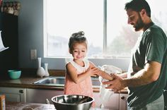 cooking with daddy