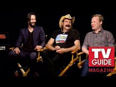 Keanu Reeves, Peter Stormare & Johan Glans Discuss 'Swedish Dicks'