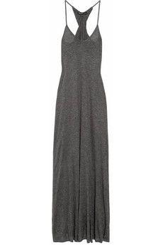 Elizabeth and James|Cross Back jersey maxi dress|NET-A-PORTER.COM - StyleSays