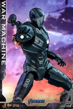 Marvel War Machine Sixth Scale Figure by Hot Toys Marvel Heroes, Captain Marvel, Die Rächer, Super Anime, Iron Man Armor, Suit Of Armor, Anime Merchandise, Movie Collection, Marvel Cinematic Universe