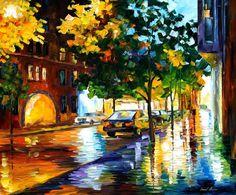RAINY JERUSALEM - PALETTE KNIFE Oil Painting On Canvas By Leonid Afremov http://afremov.com/RAINY-JERUSALEM-PALETTE-KNIFE-Oil-Painting-On-Canvas-By-Leonid-Afremov-Size-30-x36.html?utm_source=s-pinterest&utm_medium=/afremov_usa&utm_campaign=ADD-YOUR