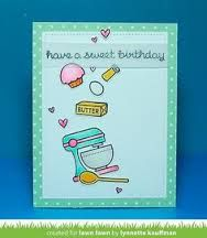 baked with love lawn fawn card - Google Search