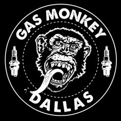 Gas Monkey Garage, Logo Garage, Monkey Breeds, Gaz Monkey, Pin Up Girl Vintage, Helmet Paint, Joker Art, Metal Signs, Vintage Signs
