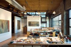 Olson Kundig Artist Studio | Photo: Benjamin Benschneider