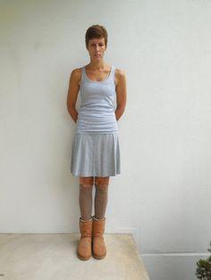 T Shirt Leg Warmers / Caramel / Brown / Womens / Teens / by ohzie