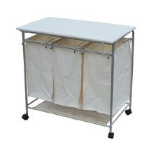 Luxury Laundry sorter Hamper with Folding Table