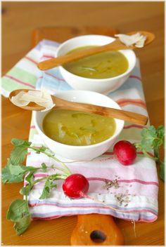 ביסים: מרק שעועית ורוזמרין