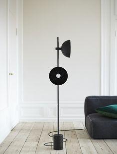 Nordic Black Floor Lamp Marble Base Standing Lamp Double Horn Floor Lamps Iron Art Lamp for Bedroom Living Room Luminaira Cheap Floor Lamps, Studio Lamp, Black Floor Lamp, Iron Art, Globe Lights, Danish Design, Studios, Furniture Design, Home Appliances
