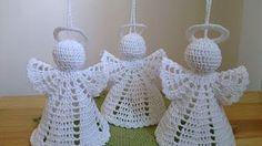 Angel en Crochet : Falda. Parte 2 de 2 - YouTube