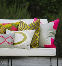 Piper-Collection   Pillows - corner details on pillow