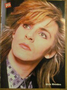 Duran Duran, Nick Rhodes, Madonna, Double Full Page Vintage Pinup
