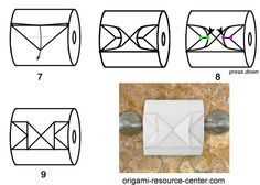 Toilet Paper Origami Butterfly