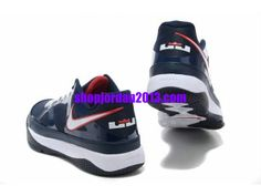 Nike #LeBron 8 Low Shoes Blue/Black/White #Lebron #James Shoes  #shoe
