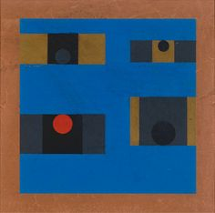 Hélio Oiticica, 'Untitled' from the series Grupo Frente, 1955. Gouache on paper.
